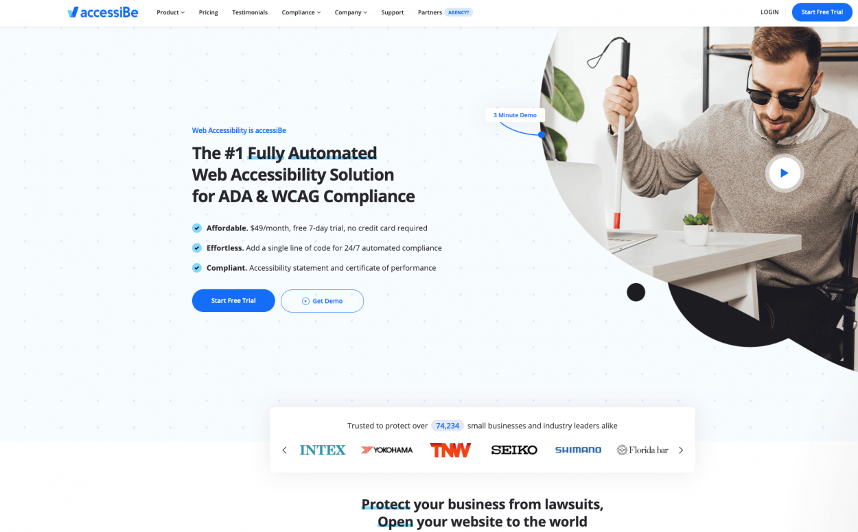 AccessiBe—a one stop shop for website accessibility for ADA & WCAG compliance for 2021